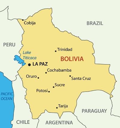 MapofBolivia