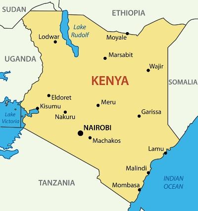 MapofKenya