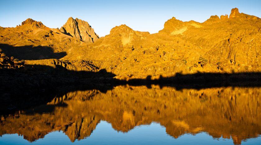 Mt Kenya Sirimon Naro Moru Route