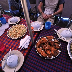 Climbing Mount Kilimanjaro: Food and Drink on the Mountain
