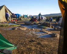 Climbing Mount Kilimanjaro: Where You Sleep