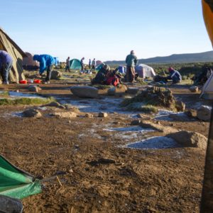 Climbing Mount Kilimanjaro: Where You Sleep