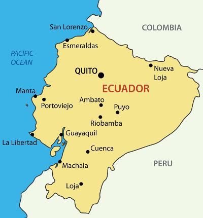 MapofEcuador