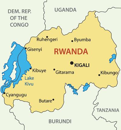MapofRwanda