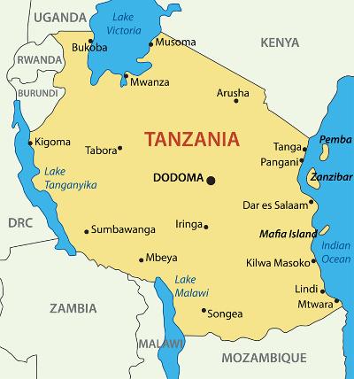 MapofTanzania
