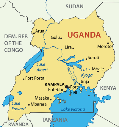 MapofUganda