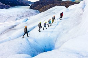 Ice Hike on Grey Glacier
